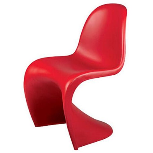 Verner Panton chair red