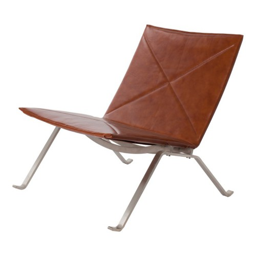 Poul Kjaerholm PK22 Leather Cognac