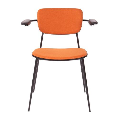 College arm chair orange