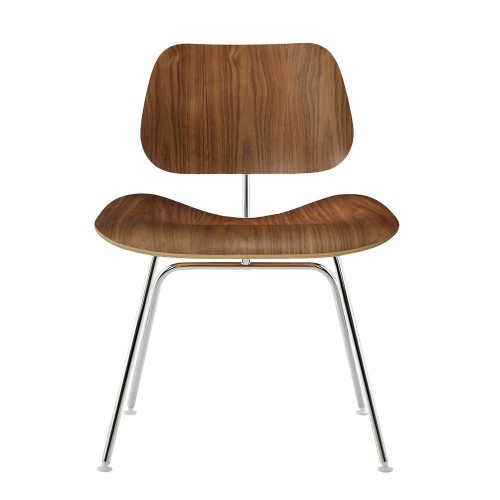 eames dining chair DCM walnut