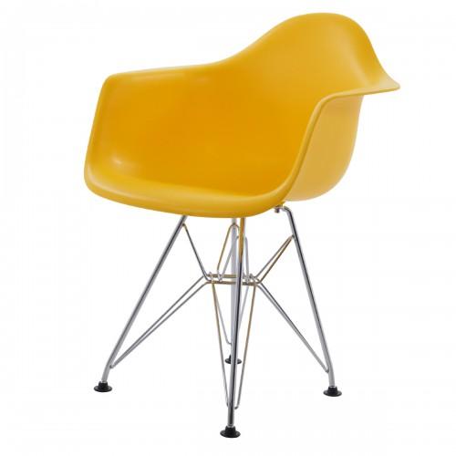Eames children chair DAR Junior Yellow