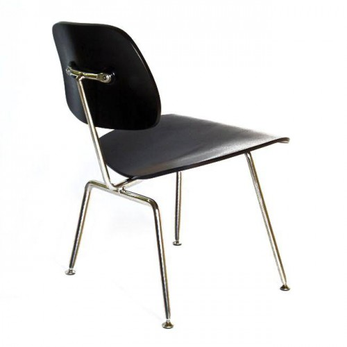 Eames dining chair DCM black