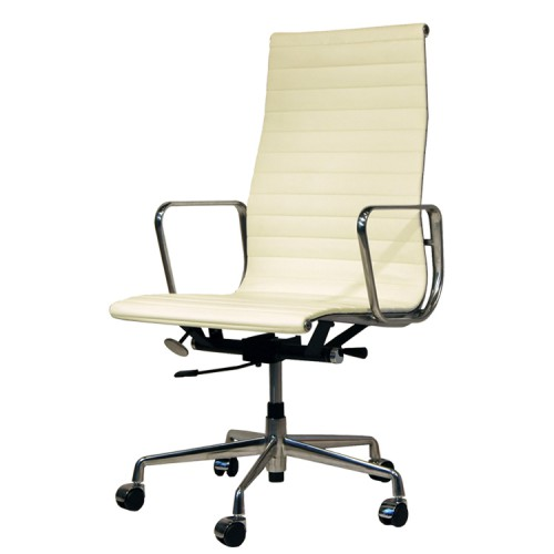 Eames Style EA119 leather cream