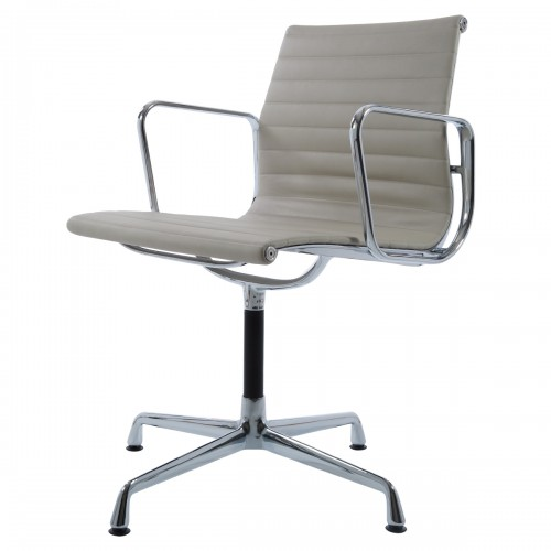 Eames conference chair EA108 leather grey