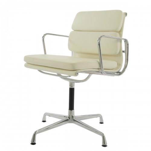 Eames conference chair EA208 leather cream