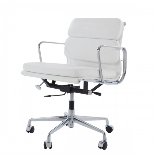 Eames officechair EA217 leather white