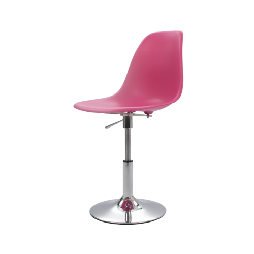 eames pscc stool pp neon pink