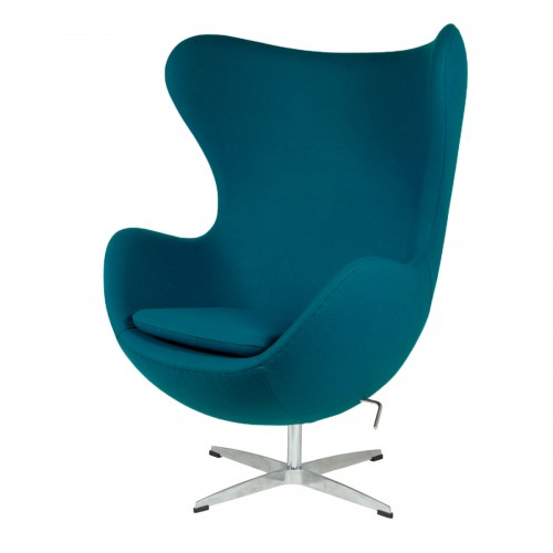Jacobsen Egg chair cashmere blue 23