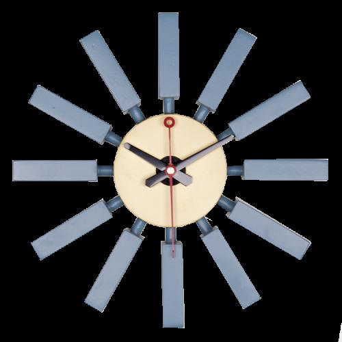 George Nelson Block clock wandklok