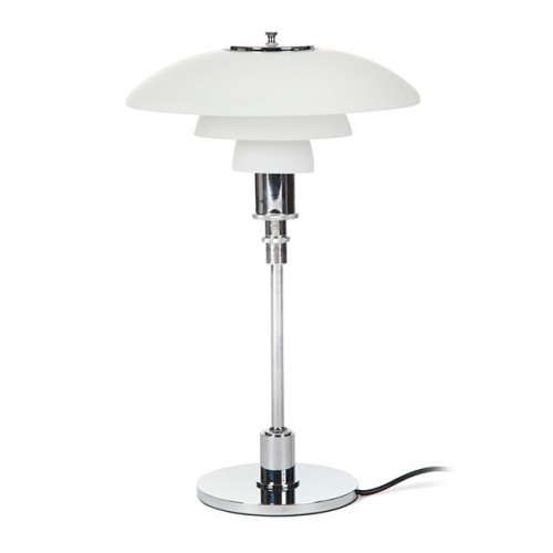 Louis Poulsen PH32 table lamp glass white