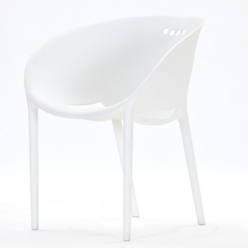 soho chair white