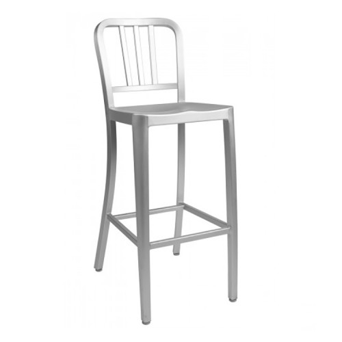 Navy Bar Stool