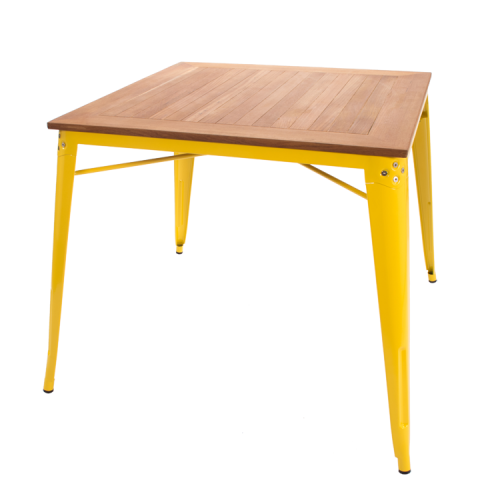 Xavier pauchard square dining table yellow