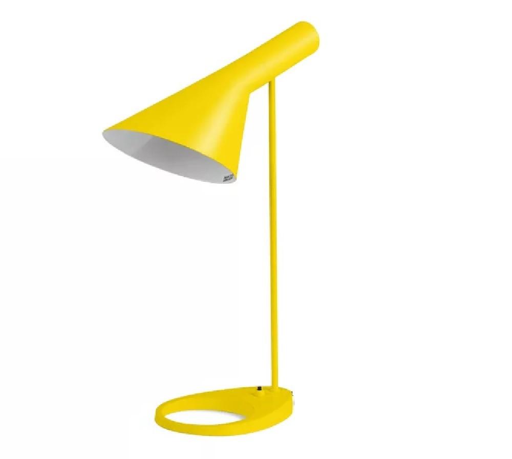 luz de brillante amarillo Lámpara AJ mesa wXOkn80P