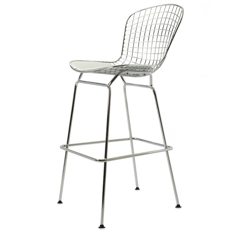Harry bertoia stool bertoia barstool design stool for Bertoia stoel