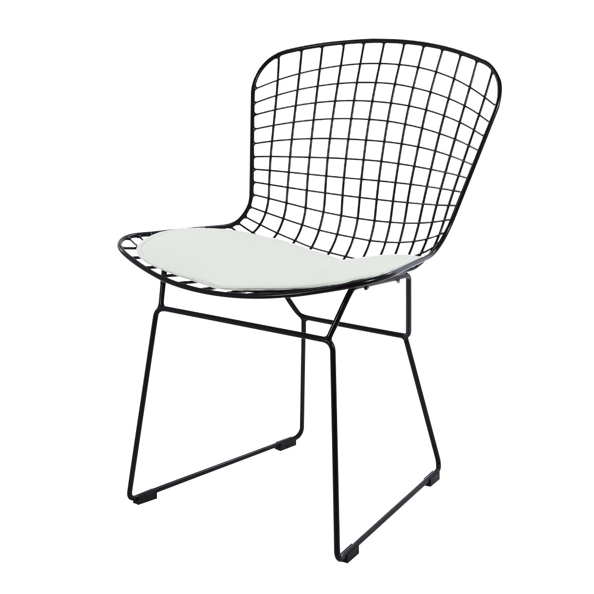 side chair low knoll madison house bertoia product wi the century by