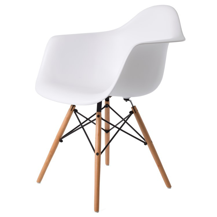 Charles Eames Esszimmerstuhl DDAW matte Design  : bs daw chair wt from dominidesign.com size 750 x 750 jpeg 31kB