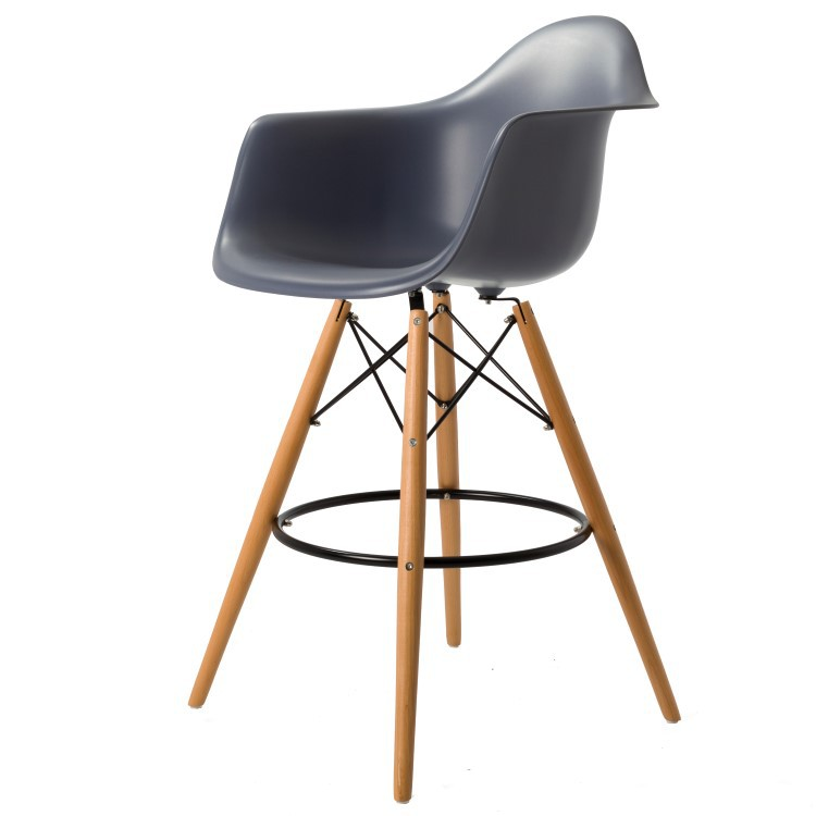 Eames DAW Stool PP Dark Grey