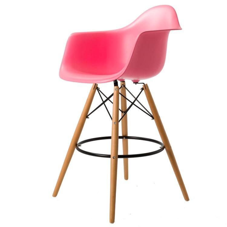 Charles Eames DAW Barhocker Designer Stuhl.