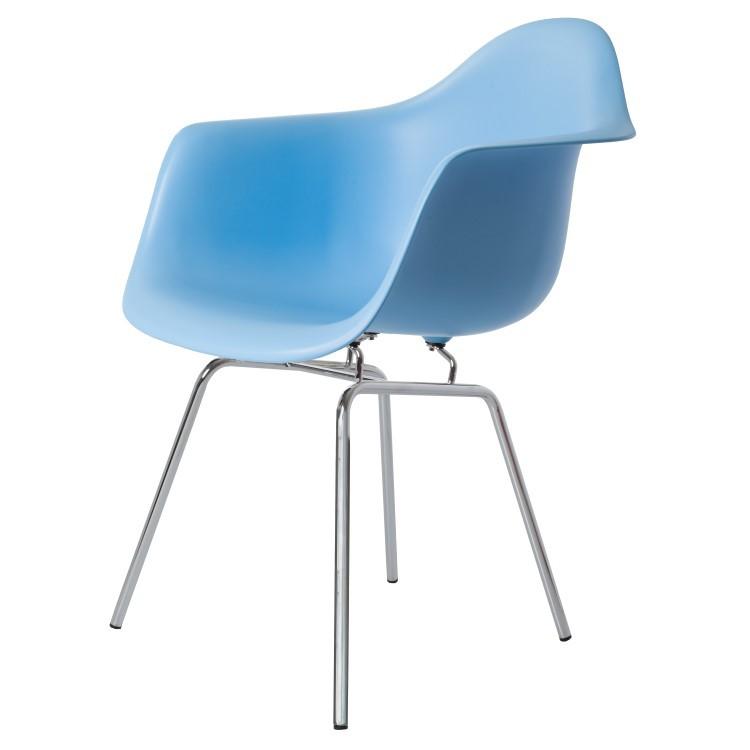 Domini Design Stoelen.Dining Chair Dax Pp Lightblue