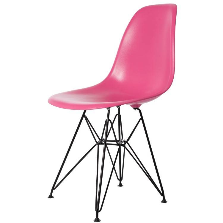 Eames Plastic Side Chair Dsr charles eames dining chair dsr black base design dining chair