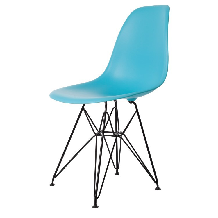 charles eames esszimmerstuhl dsr base schwartz matte design esszimmerstuhl. Black Bedroom Furniture Sets. Home Design Ideas