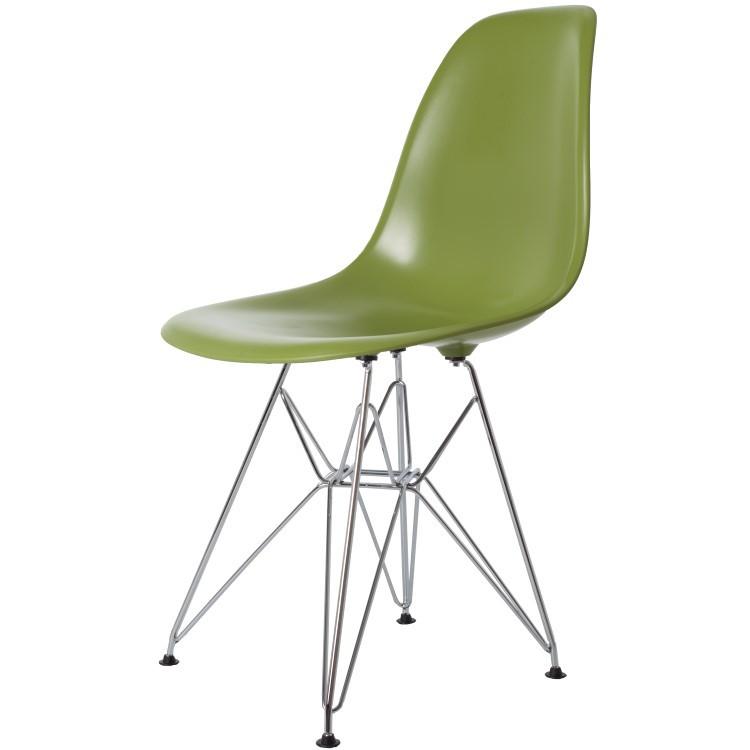 Design Stoelen Replica Eames.Charles Eames Dining Chair Ddsr Abs Darkgrey