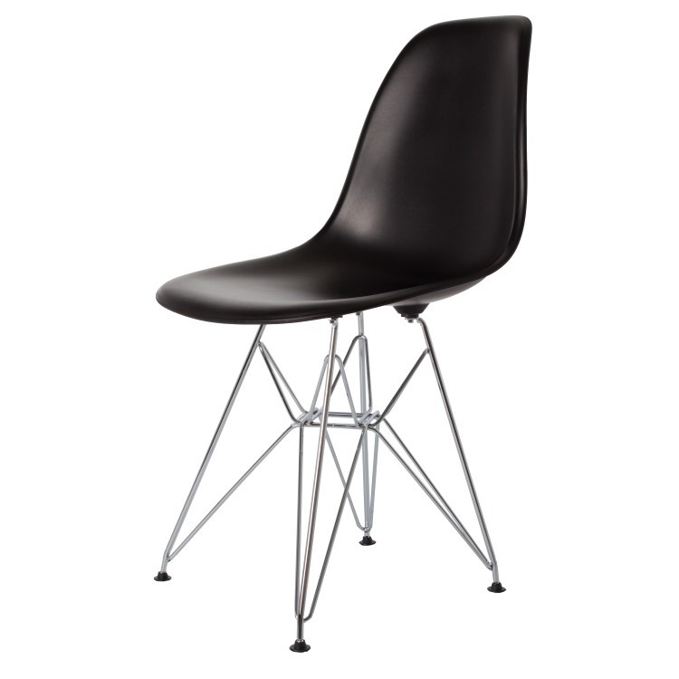 Incredible Dining Chair Dsr Matte Pp Black Machost Co Dining Chair Design Ideas Machostcouk