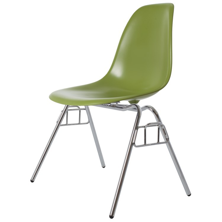 Charles Eames,dining chair DSS ABS green
