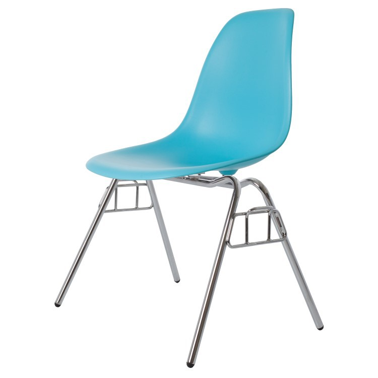 Stupendous Dining Chair Dss Matte Pp Neon Blue Gmtry Best Dining Table And Chair Ideas Images Gmtryco