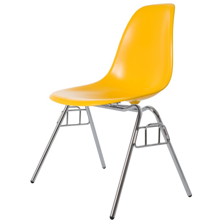 Charles Eames dining chair. DSS glossy. Design dining chair.
