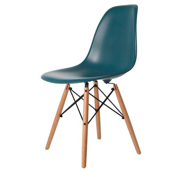 Charles Eames salle à manger. DDSW tapis. Design salle à manger.