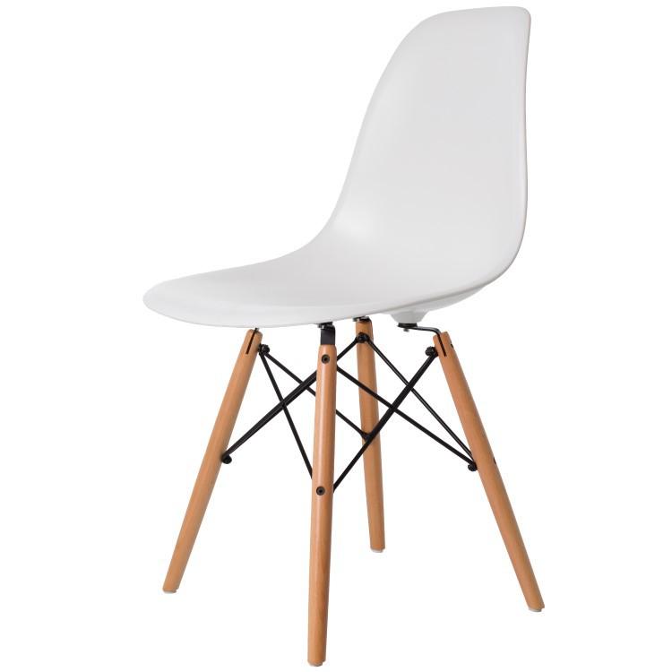 Charles Eames Eetkamerstoel Dd Dsw Glanzend Design