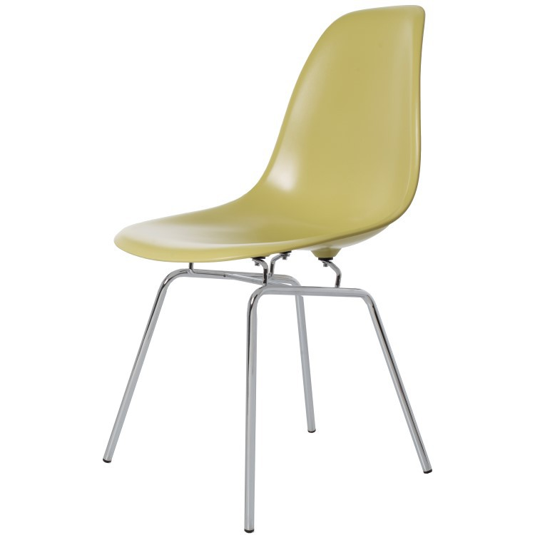 Charles eames dining chair dsx glossy design dining chair for Eames hocker replica