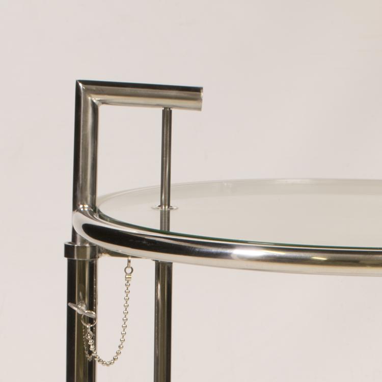Eileen Gray Beistelltisch eileen gray beistelltisch e1027 chrom design beistelltisch