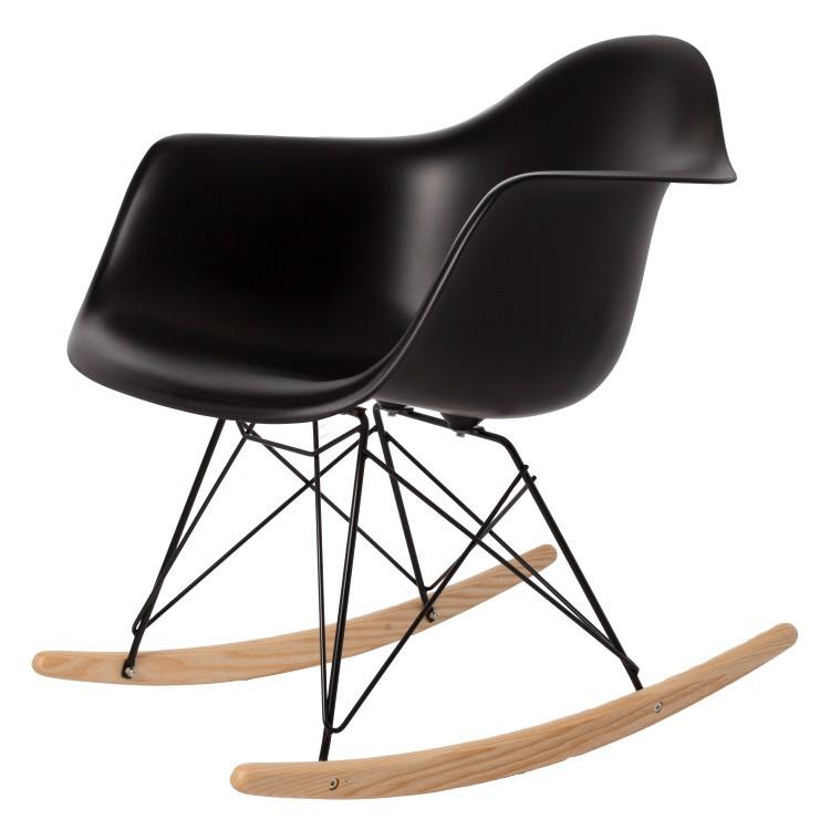 Charles Eames Schaukelstuhl Rar Base Schwartz Schaukelstuhl Design