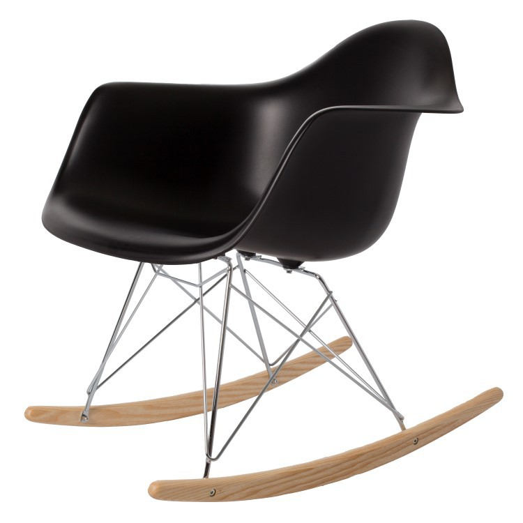 Charles Eames,gyngestol RAR PP hvit