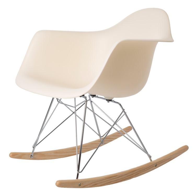 Astounding Rocking Chair Rar Pp Cream Inzonedesignstudio Interior Chair Design Inzonedesignstudiocom