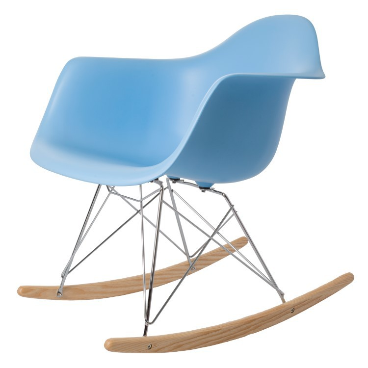 ... Eames RAR PP Light Blue Eames Rocking Chair ...