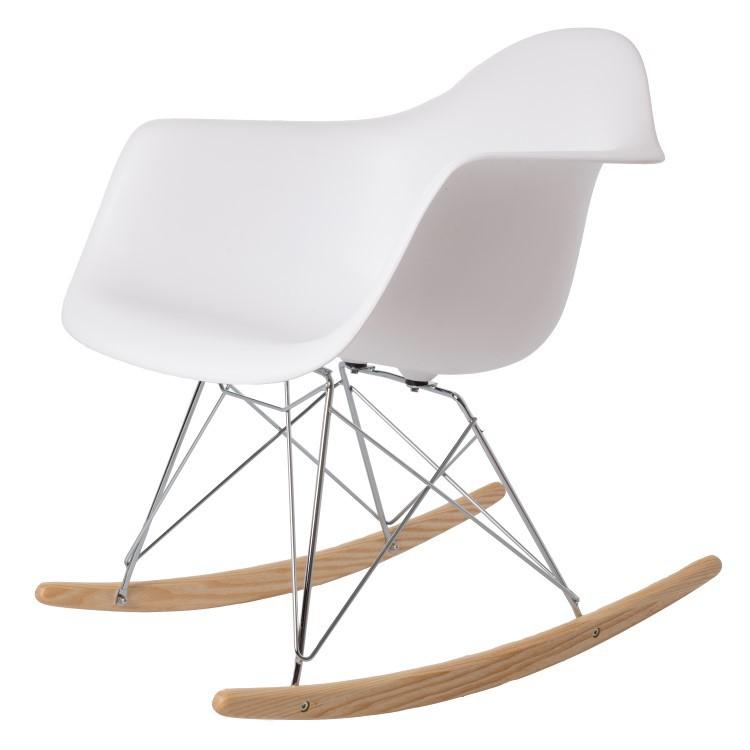 Elegant Eames Rocking Chair RAR PP White ...