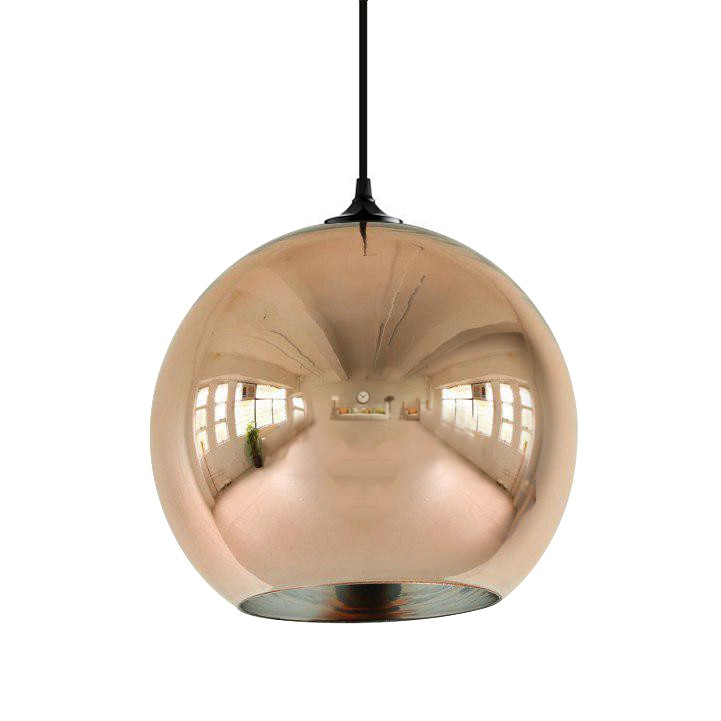 Roberto menghi pendant light globo di luce copper design pendant copper pendant light mozeypictures Image collections