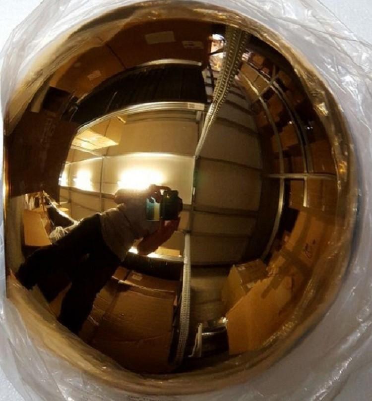 Roberto menghi colgante globo di luce cobre design colgante copper pendant light copper pendant in a dark enviroment aloadofball Gallery