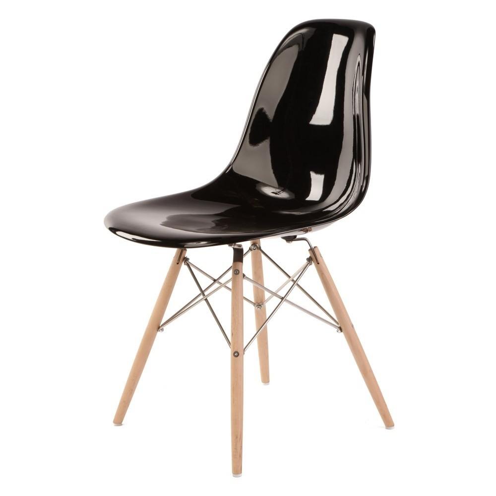 charles eames esszimmerstuhl dsw fiberglas design esszimmerstuhl. Black Bedroom Furniture Sets. Home Design Ideas