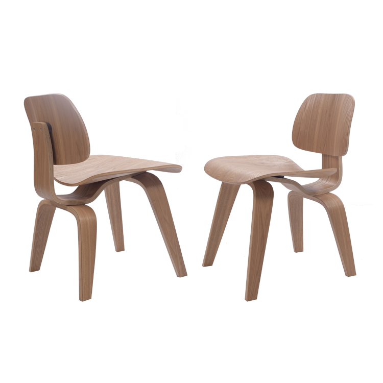 Charles Eames eetkamerstoel. DCW. Design eetkamerstoel.