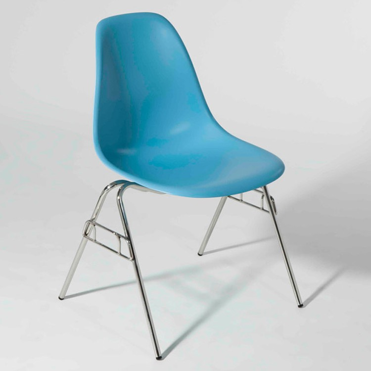 charles eames dining chair dss abs lightblue