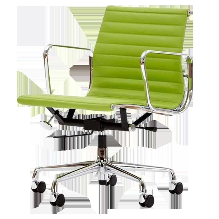Charles Eames Bureaustoel.Charles Eames Bureaustoel Ea117 Rood
