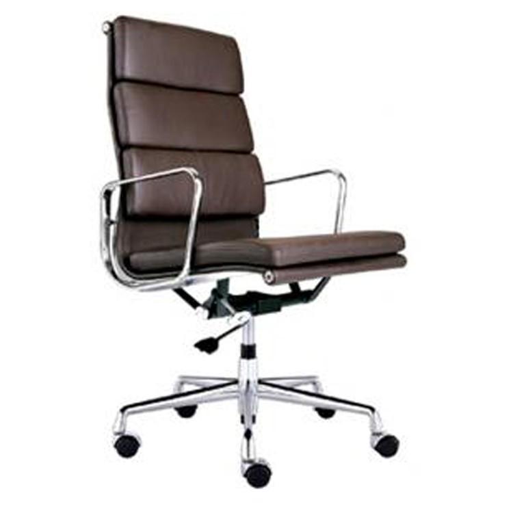 Sedia Eames Ufficio.Poltrona Direzionale Ea219 Marrone