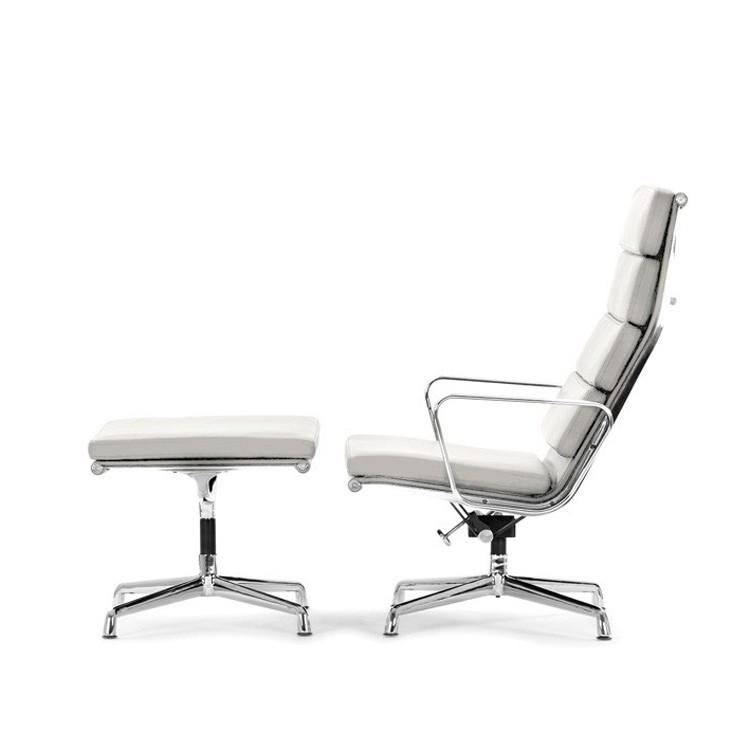 charles eames lounge stoel met hocker ea222 design lounge stoel met hocker. Black Bedroom Furniture Sets. Home Design Ideas