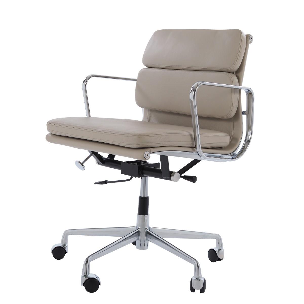Moderne Charles Eames,kontorstol EA217 grå GQ13