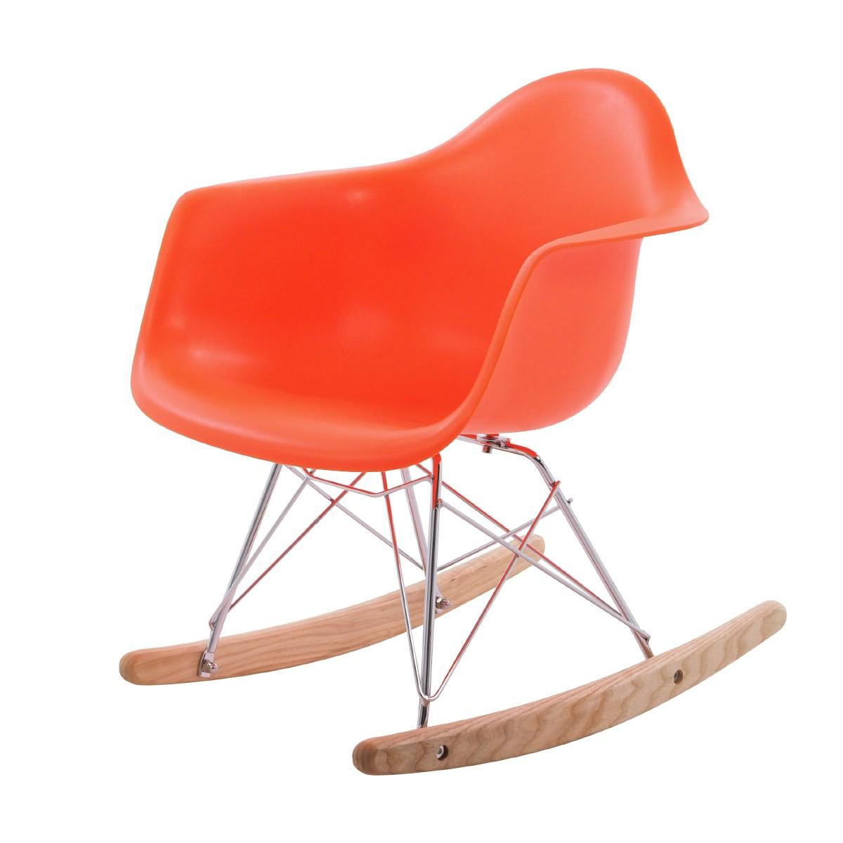 Fantastisch ... Eames Children Rocking Chair RAR Orange ...